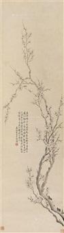 墨梅 by wang shishen