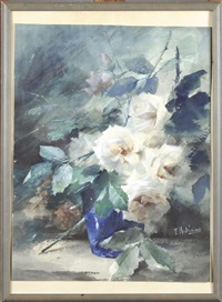 les roses blanches by frans mortelmans
