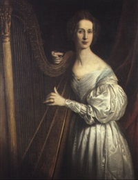 portriat of hannah chadwick of arksey, yorkshire by w. frederick