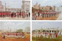 the scots guards by reginald augustus wymer