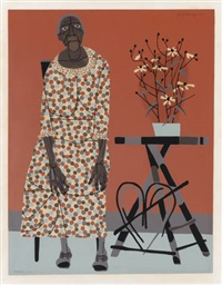 farmer's wife (the grandmother) by robert gwathmey