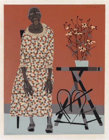 farmers wife the grandmother by robert gwathmey