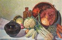 composition aux légumes by louis merlin