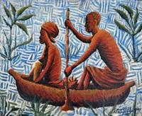 dans la pirogue by kibwanga mwenze