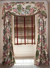 draperies and valance (+ draperies and valance; 4 works) by david easton