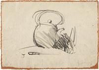 tea pot by claes oldenburg
