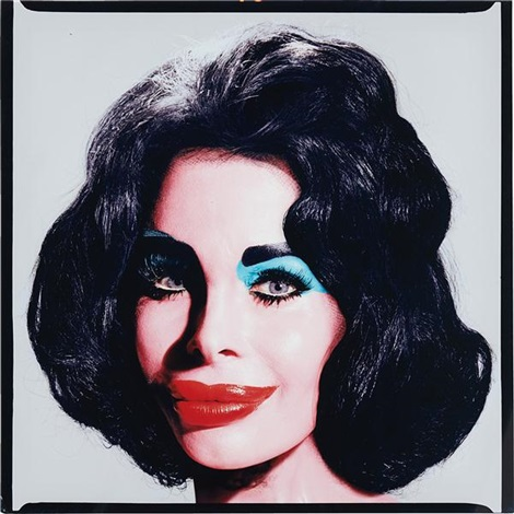 amanda as andy warhols liz taylor by david lachapelle