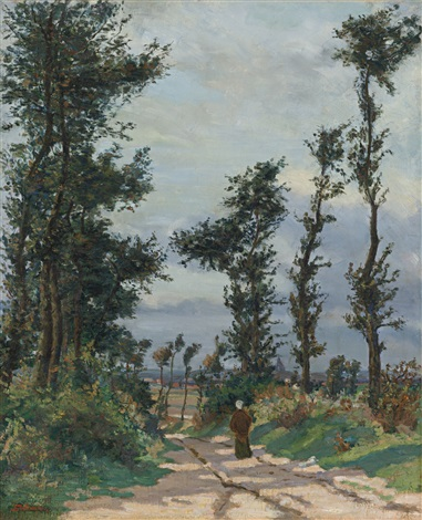 paysage dîle de france by armand guillaumin