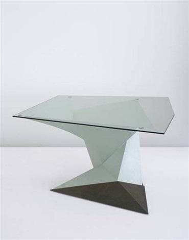 Prototype Origami Table By Philip Michael Wolfson On Artnet