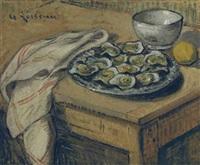 les huîtres by gustave loiseau