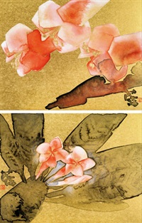 花语 (2 works) by lin lan