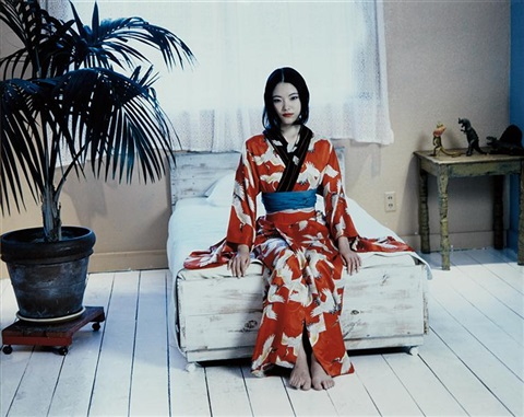 red kimono by nobuyoshi araki