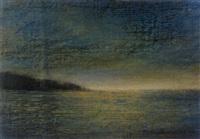 sonnenuntergang am meer by siegfried amerstorfer