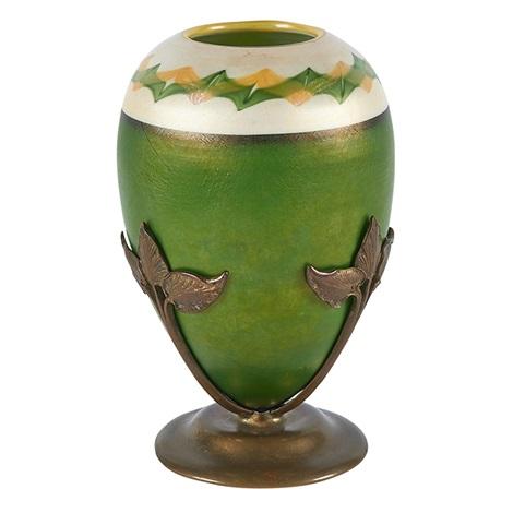 Tel El Amarna Vase On Stand By Louis Comfort Tiffany On Artnet