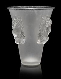 vase: saint-emilion by rené lalique