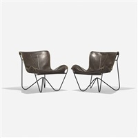 lounge chairs (pair) by max jules gottschalk