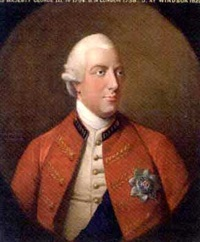 portrait of king george iii wearing full-uniform by david dodd
