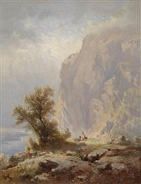 auf der eisenmauer (gebirge am attersee in ob. österreich) by karl franz emanuel haunold
