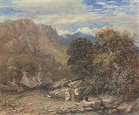 blackberry gatherers by david cox the elder