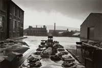 jubilee street party, elland, yorkshire (from bad weather) by martin parr