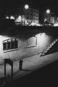 les amoureux de saint-germain-des-prés. paris by francis apesteguy