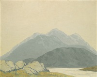 landscape by paul henry