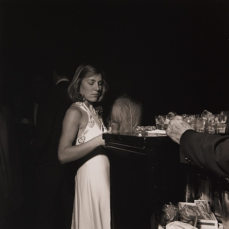 russian ball, new york city by larry fink