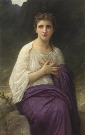 psyche lextase by william adolphe bouguereau