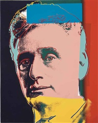 louis brandeis (from ten portraits of jews of the twentieth century) by andy warhol