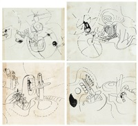 compositions (4 works) by roberto matta