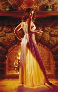 american beauty, brandy by greg hildebrandt