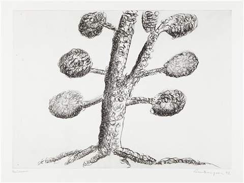 topiary the art of improving nature plate 2 by louise bourgeois