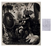the countess de monblanc, paris (+1 other; 2 works) by joel-peter witkin