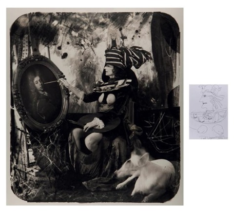 the countess de monblanc paris 1 other 2 works by joel peter witkin