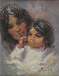 santa clara mother and child by marilyn bendell