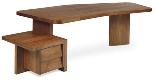 free form desk by balkrishna doshi and pierre jeanneret