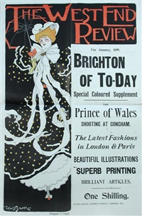 the west end review for january brighton of today special by lewis baumer
