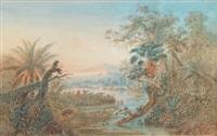 paysage d'amérique du sud by anton goering