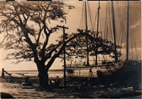 bateau et pêcheurs, mexique by tina modotti