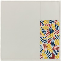 #4 (after untitled) by jasper johns