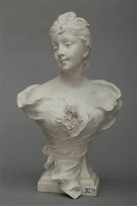 buste de jeune fille by sylvain kinsburger
