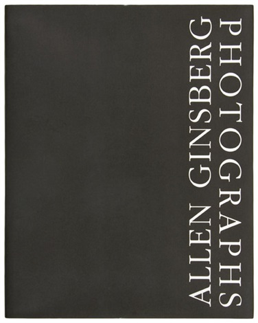 allen ginsberg photographs bk w91 works illustration title folio by allen ginsberg