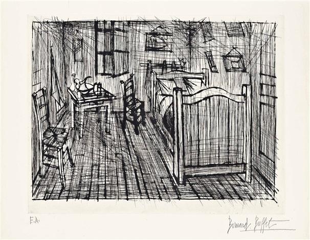 La Chambre De Van Gogh By Bernard Buffet On Artnet