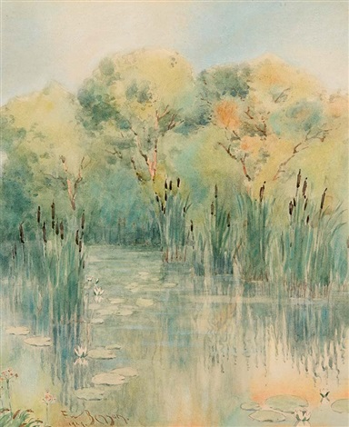 wetlands by frank weston benson