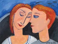 loving couple i by jane evans