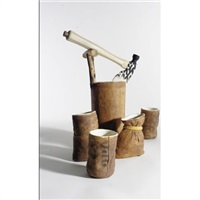 hatchet tea service (set of 5) by richard shaw