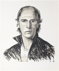 self-portrait by alfred leslie