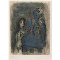 rahab et les espions de jéricho by marc chagall