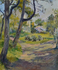 vue de jardin by marcel caron