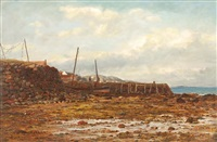 low tide, arran by duncan cameron
